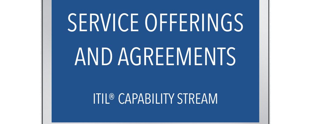 ITIL® Service Offerings & Agreement